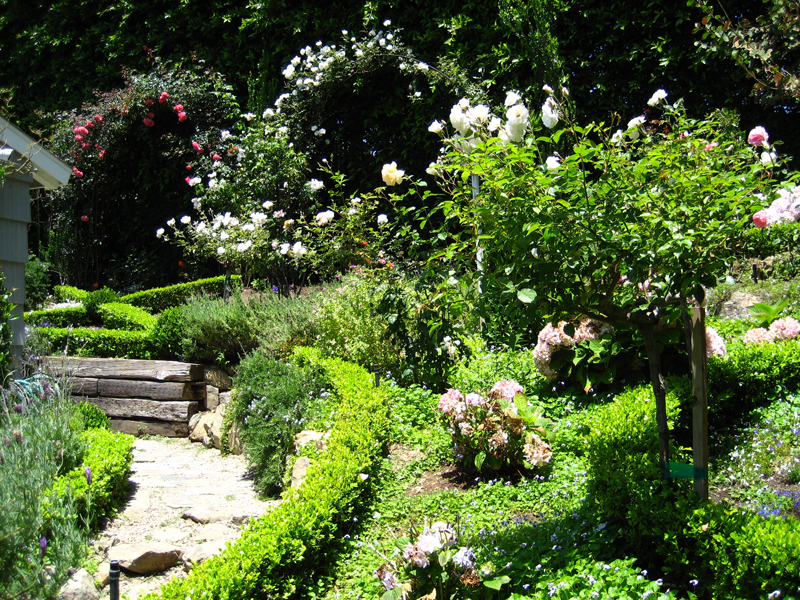 french garden design photos