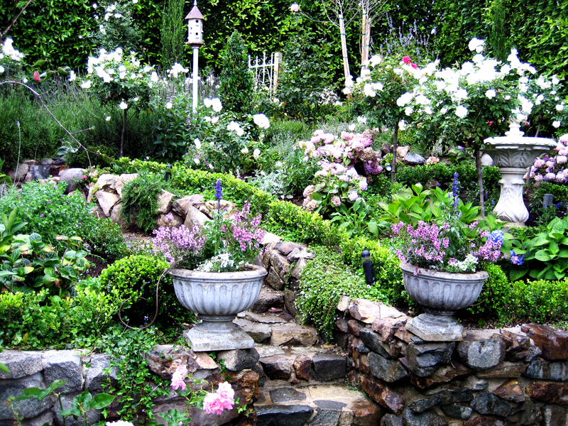 European garden design for English garden designs