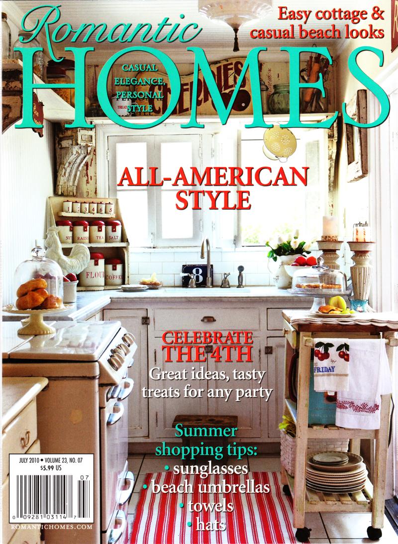 Featured in Romantic Home Magazine | European Garden Design